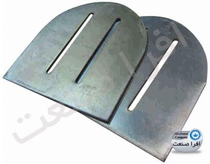 صفحه پلیت بدون لبه کرکره برقی برای موتورهای توبولار