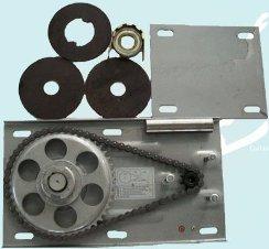 صفحه پلیت موتور ساید کرکره برقی